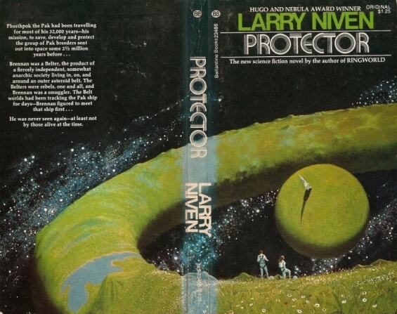 Ballantine Books (1973) Protector by Larry Niven