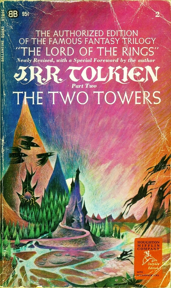 Ballantine Books - The Two Towers by J.R.R. Tolkien