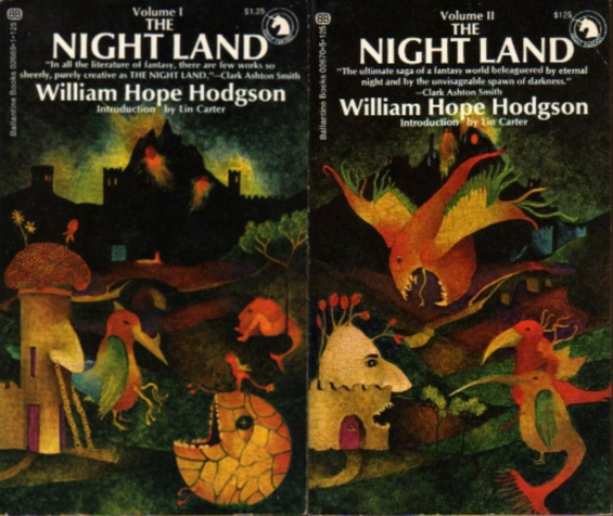 Ballantine - The Night Land by William Hope Hodgson