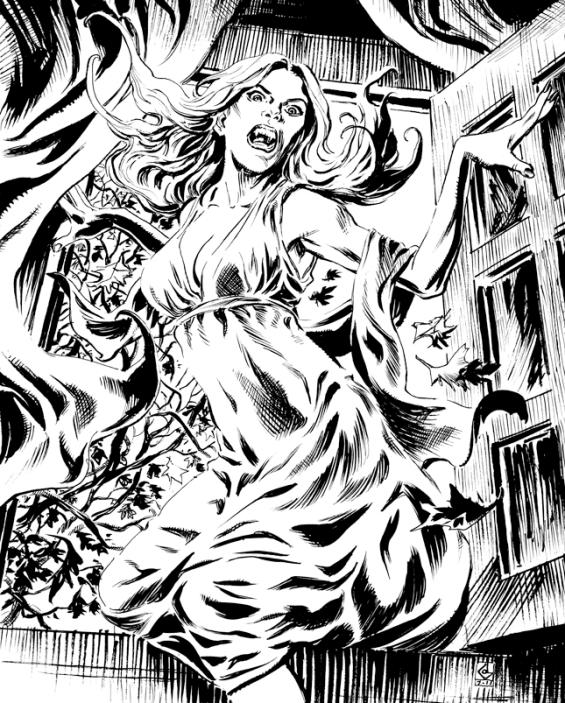 Carmilla - illustration by Dean Kotz