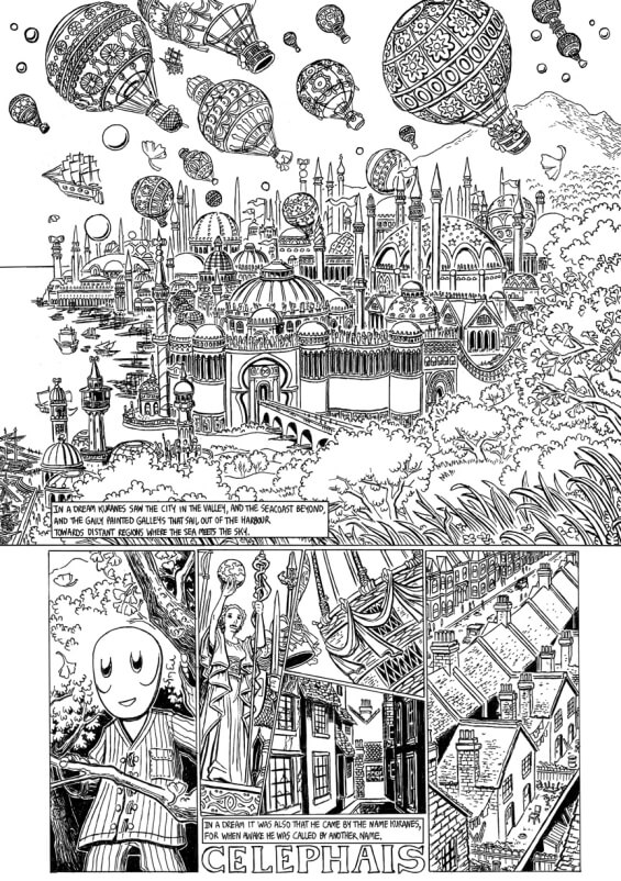 Celephais adapted by Jason Thompson