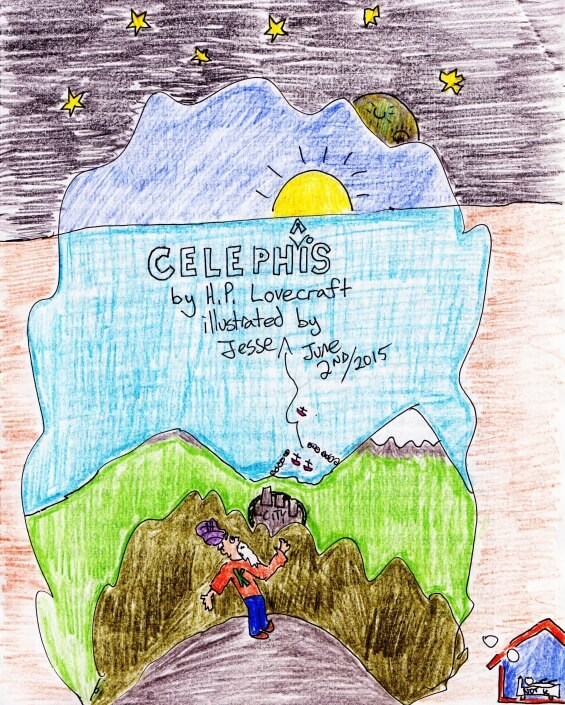 Celephais by H.P. Lovecraft - illustration by Jesse