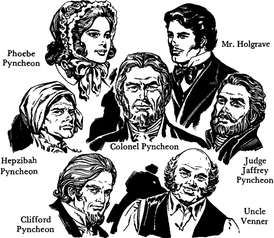 Characters in The House Of The Seven Gables