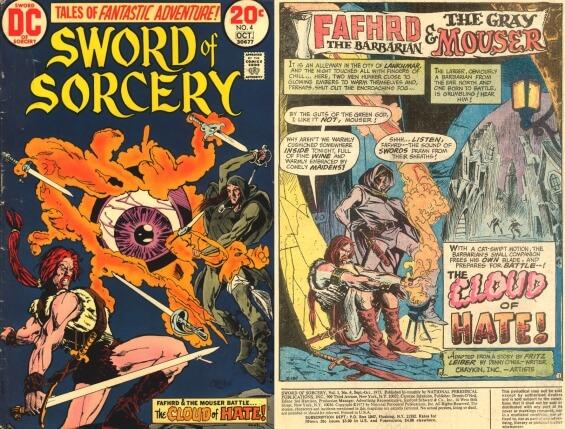 DC Comics - Sword Of Sorcery, Issue 4