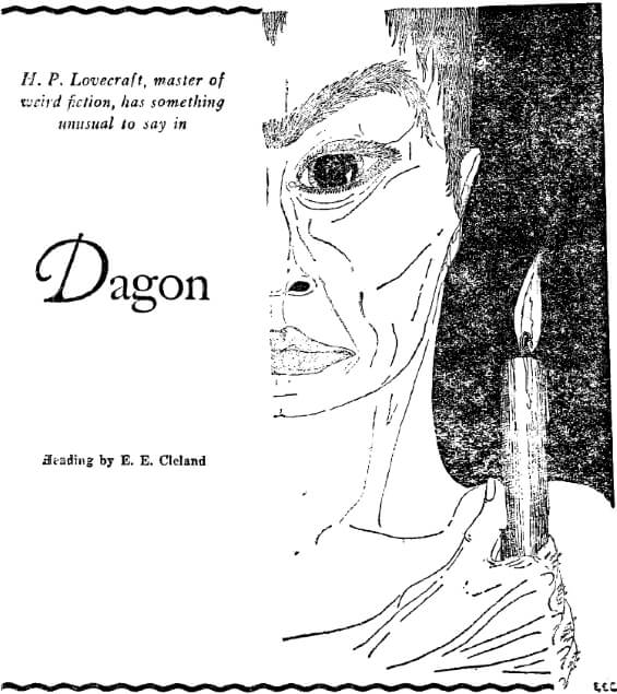 Dagon by H.P. Lovecraft - WEIRD TALES