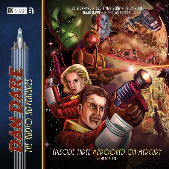 Dan Dare - 3: Marooned On Mercury