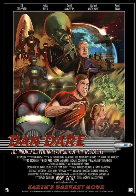 Dan Dare - The Audio Adventures - Reign Of The Robots