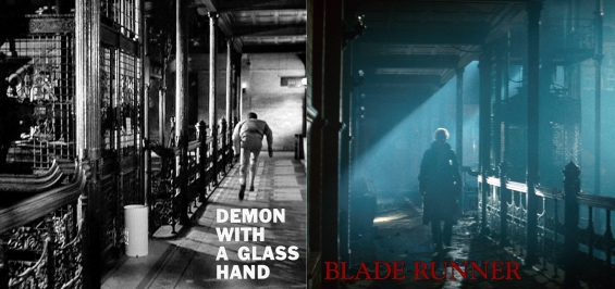 Demon With A Glass Hand and Blade Runner in the Bradbury