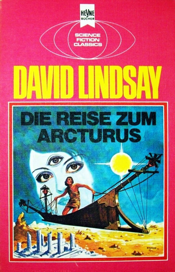Die Reise Zum Arcturus by David Lindsay - illustration by Atelier Heinrichs
