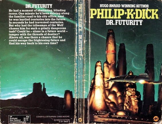 Dr Futurity by Philip K. Dick - illustrated by Chris Moore