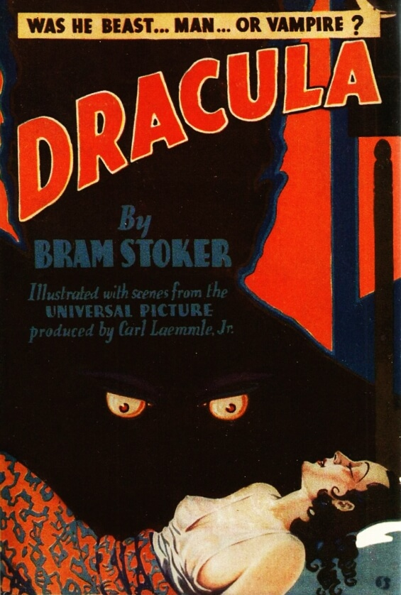 Dracula by Bram Stoker (1931) Grosset And Dunlap