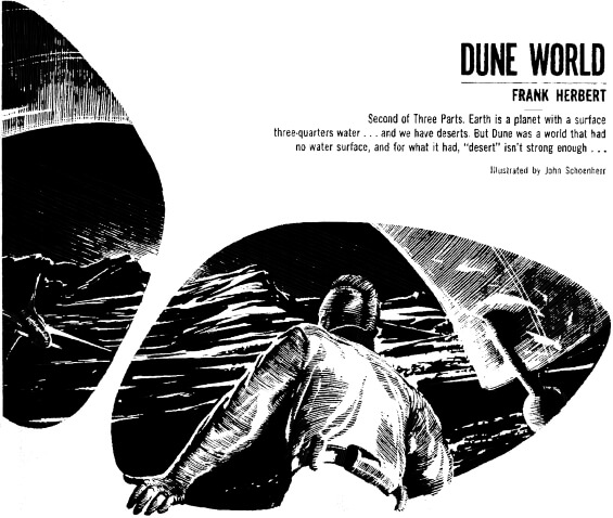 Dune World - illustration by John Schoenherr