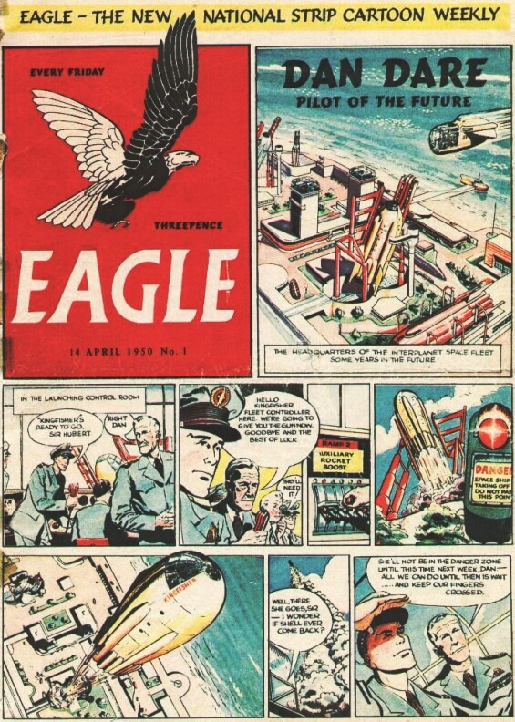 Eagle V1 No1, April 14th, 1950