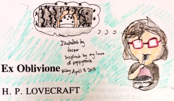 Ex Oblivione by H.P. Lovecraft - illustrated by Jasper