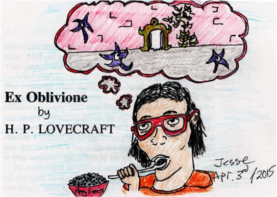 Ex Oblivione by H.P. Lovecraft - illustrated by Jesse