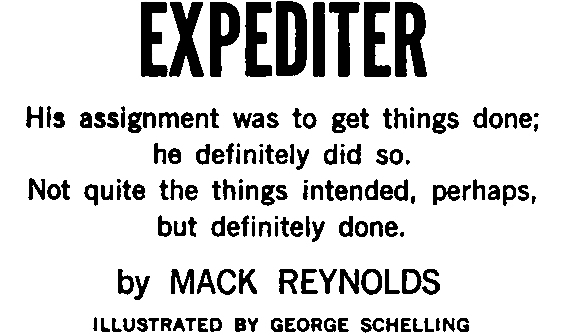 Expediter by Mack Reynolds