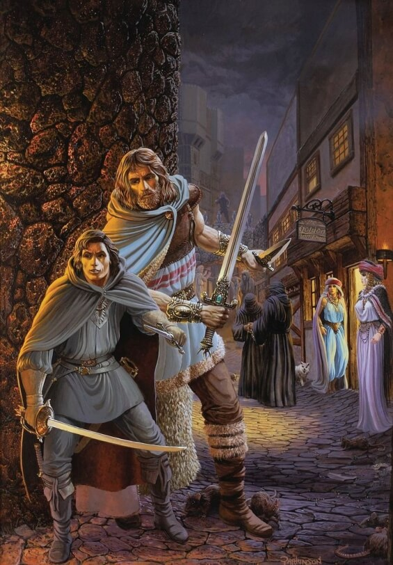 Fafhrd and The Gray Mouser - art by Keith Parkinson