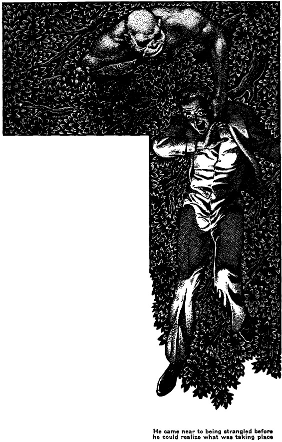 Famous Fantastic Mysteries - CITADEL OF FEAR by Franics Stevens - illustrated by Virgil Finlay