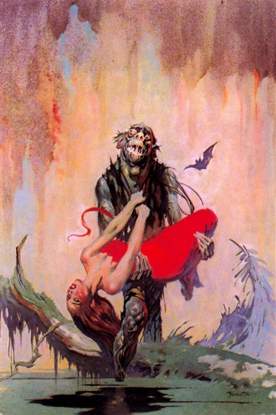 Frank Frazetta - The Monster Men by Edgar Rice Burroughs