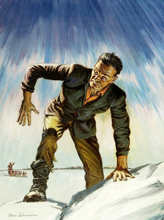 Frankenstein - Illustration by Norm Saunders