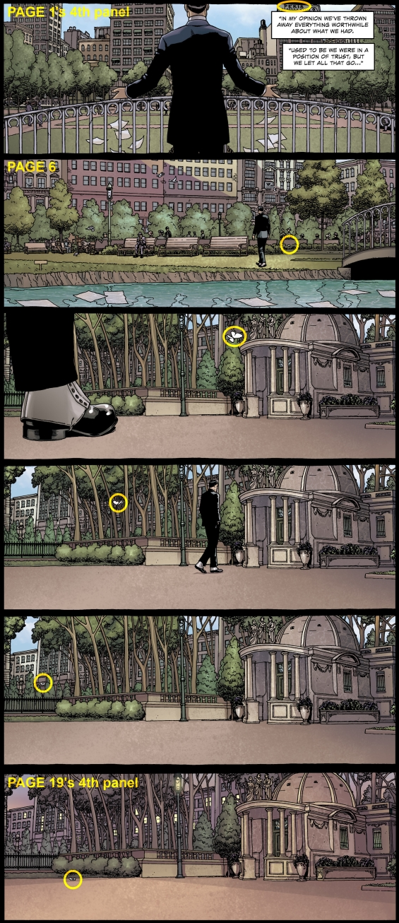 From PROVIDENCE, Issue 1, by Alan Moore and Jacen Burrows