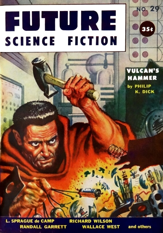Future Science Fiction No. 29 (1956). Cover Art by Frank Kelly Freas