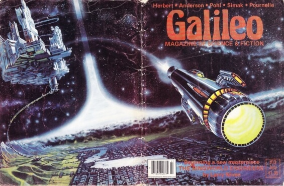 1979 -1980 serialization of THE RINGWORLD ENGINEERS by Larry Niven in Galileo