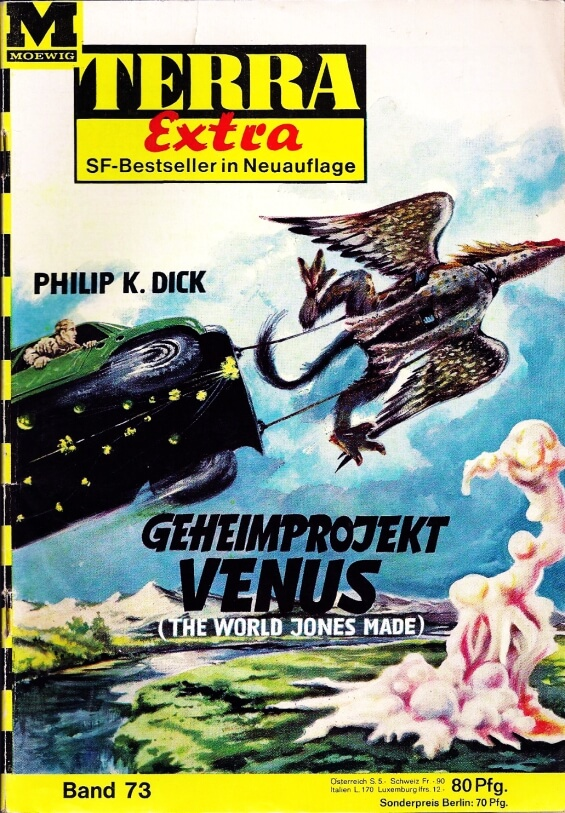Geheimproject Venus by Philip K. Dick