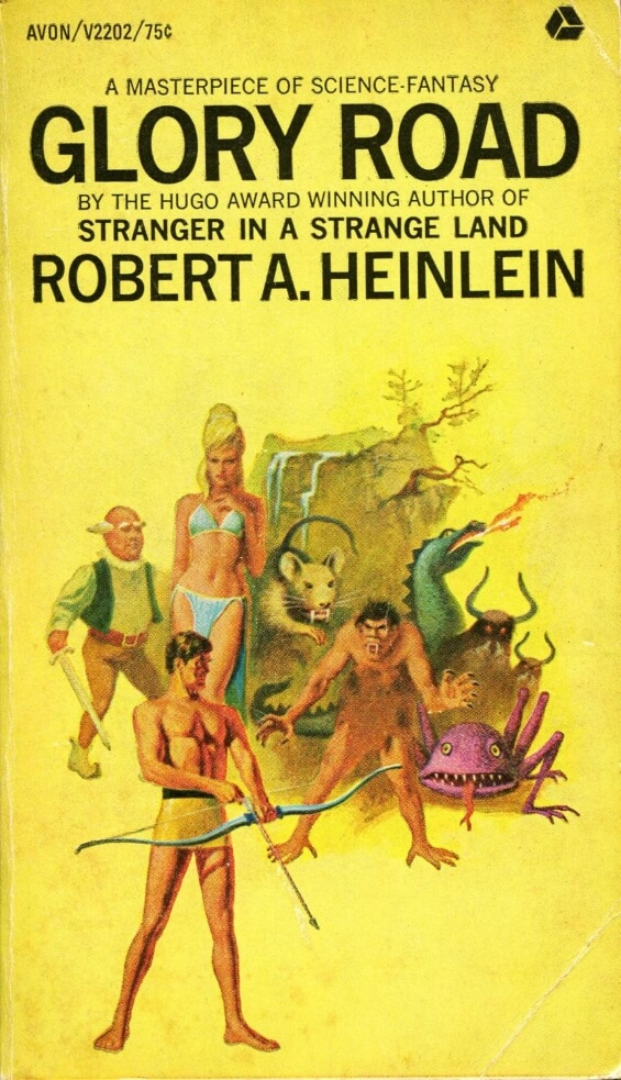 AVON - Glory Road by Robert A. Heinlein