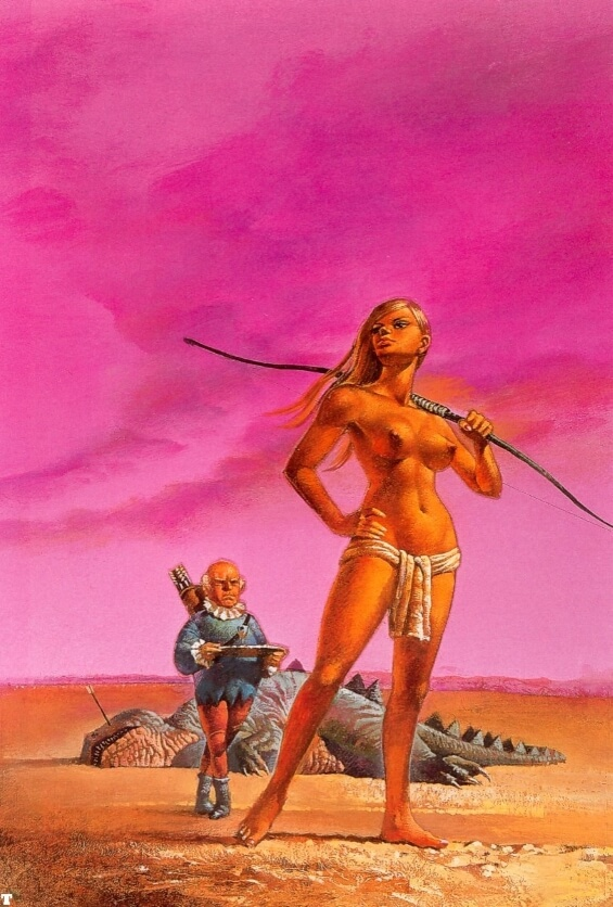 Glory Road - illustrated by Bruce Pennington