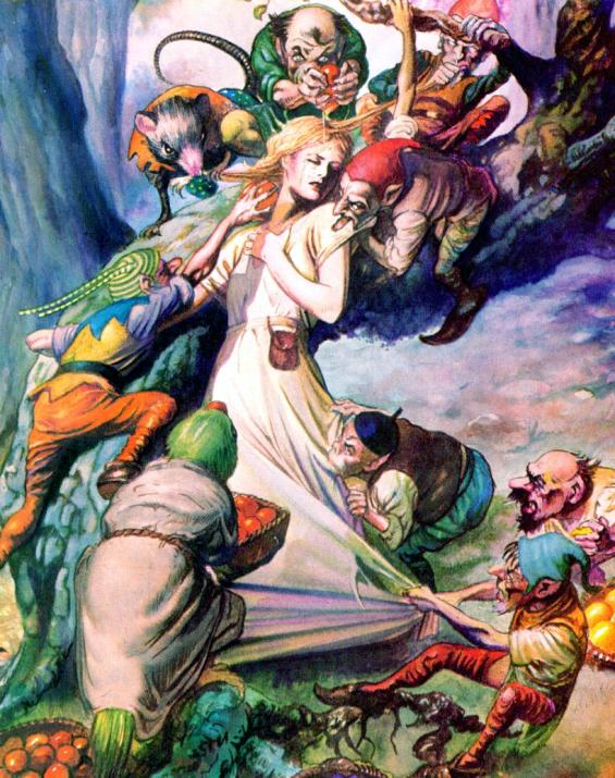 Goblin Market ilustration by John Bolton