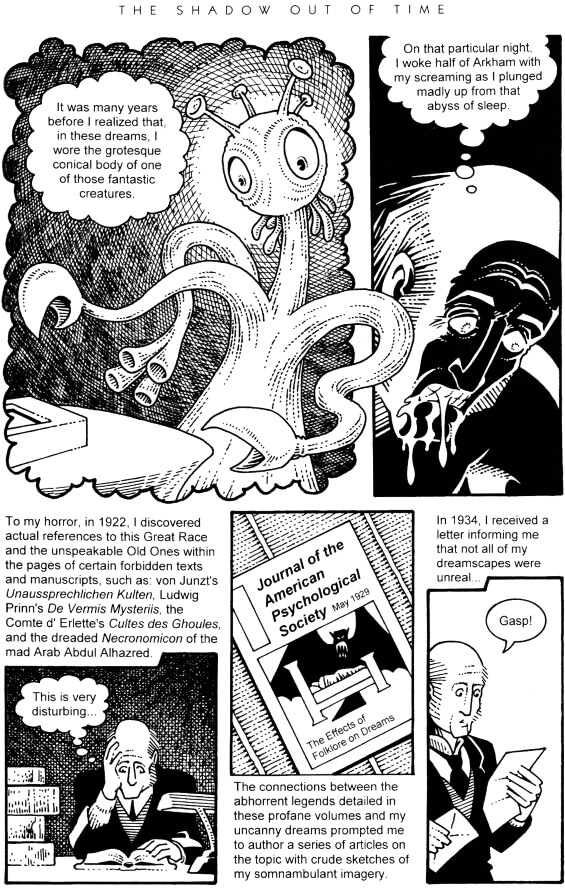 Graphic Classics - Volume 4 - H.P.Lovecraft: The Shadow Out Of Time adapted by Matt Howarth