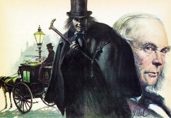Guy Deal illustration of Strange Case Of Dr Jekyll And Mr Hyde