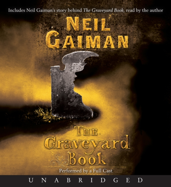 Harper Audio - The Graveyard Book by Neil Gaiman FULL CAST