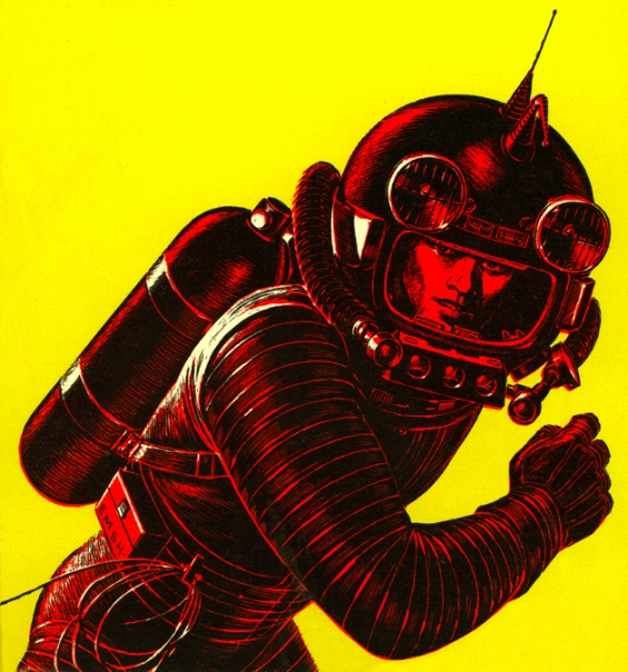 Have Spacesuit - Will Travel - illustration by Ed Emshwiller