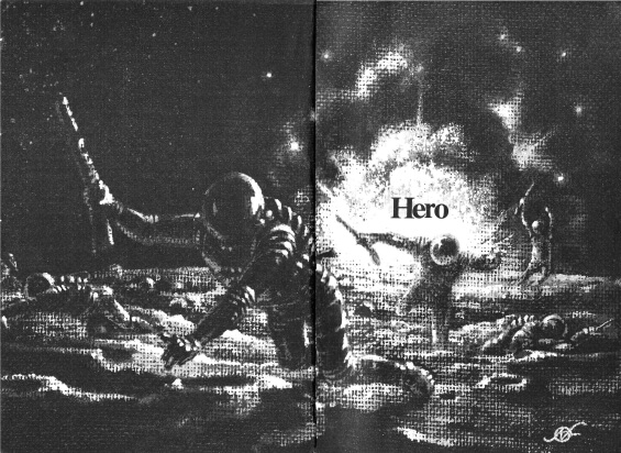 Hero by Joe Haldeman - Analog June 1972 - Illustrated by Frank Kelly Freas