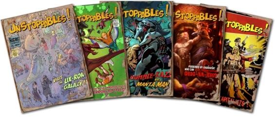 Hubris Comics - Unstoppables!