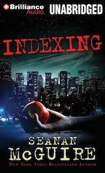 Cover art for Indexing by Seanan McGuire