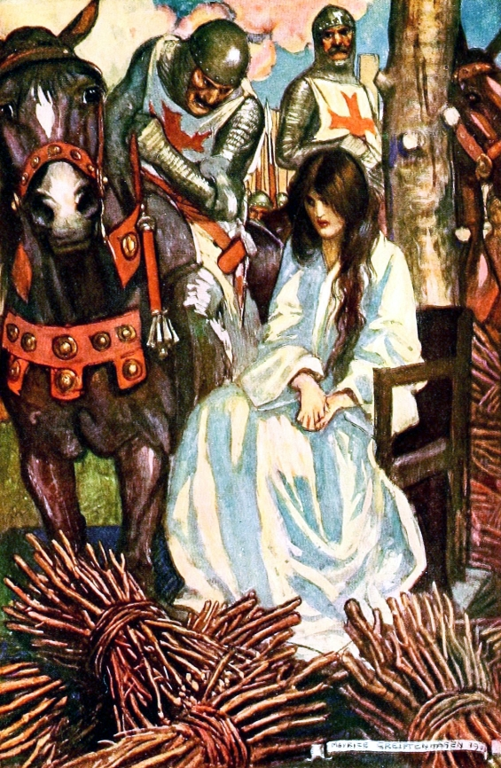 Ivanhoe illustrated by Maurice Greiffenhagen