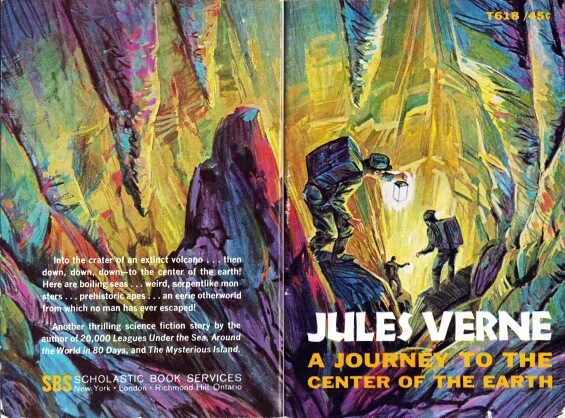 A Journey To The Center Of The Earth by Jules Verne - T618