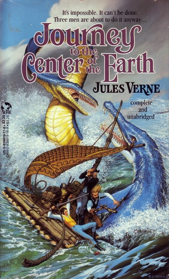 Journey To The Center Of The Earth - illustrated by Jim Thiesen