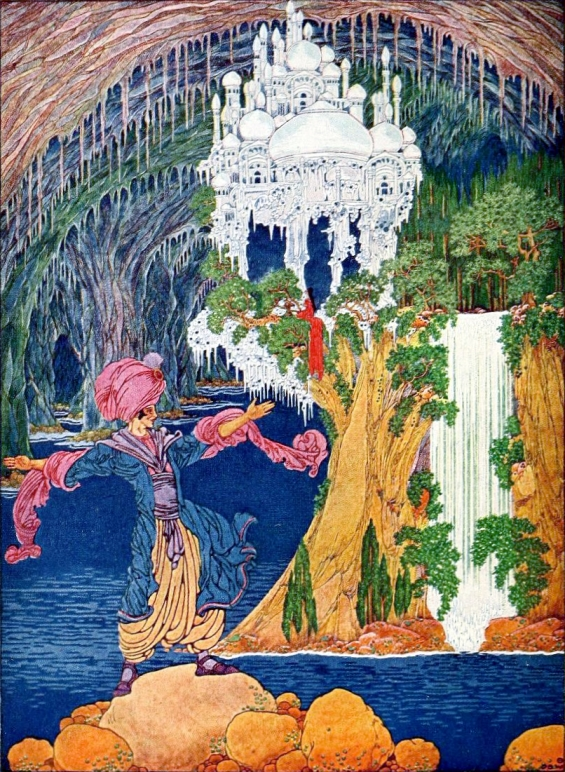 Kubla Khan illustrated by Dugald Walker