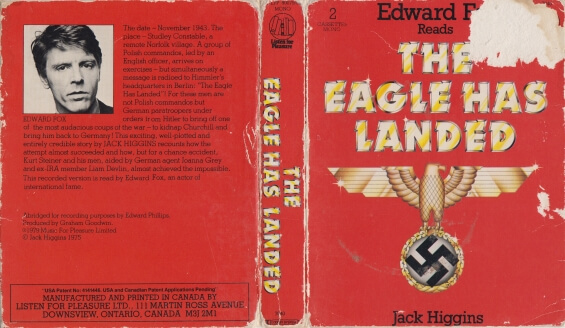 LISTEN FOR PLEASURE - The Eagle Has Landed by Jack Higgins