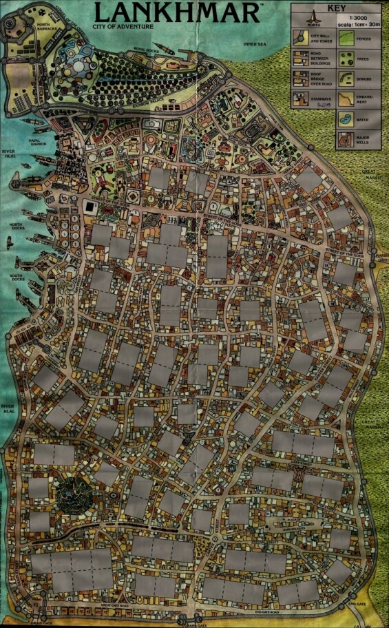 Lankhmar - City Of Adventure