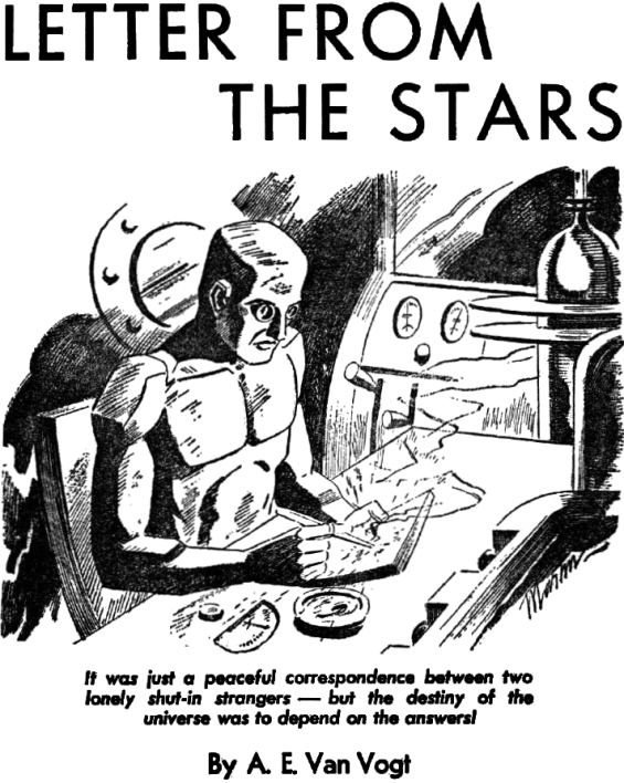 Letter From The Stars by A.E. van Vogt