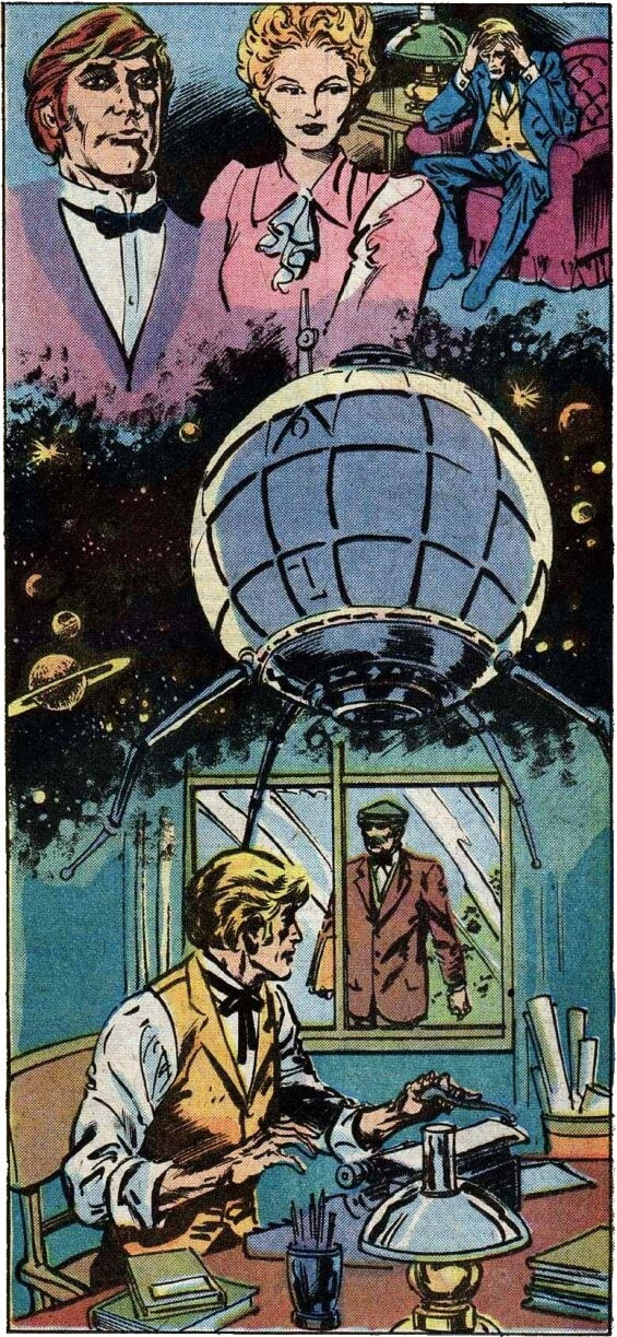 Marvel Classics - The First Men In The Moon by H.G. Wells