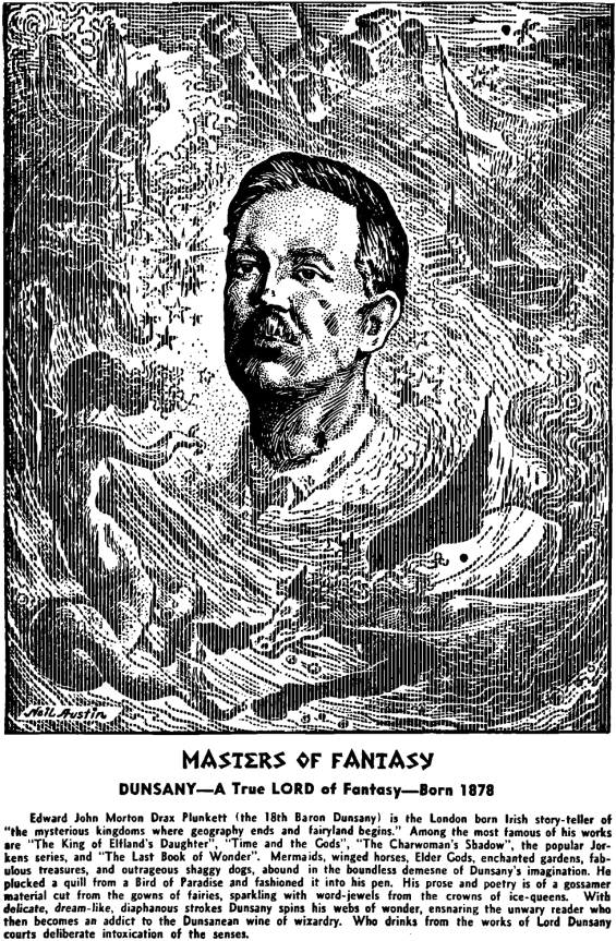 Masters Of Fantasy - Lord Dunsany by Neil Austin