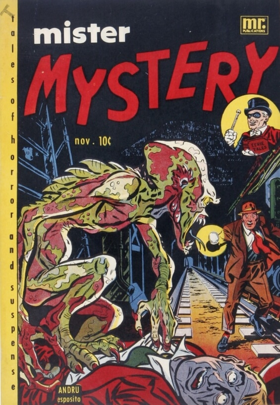 Mister Mystery - The Subway Terror
