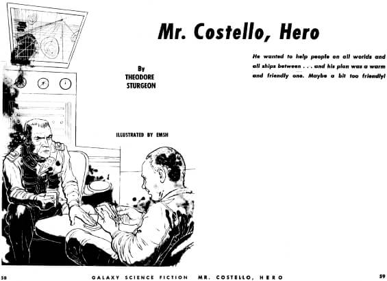 Mr Costello, Hero illustrated by Ed Emshwiller