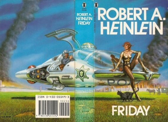 NEW ENGLISH LIBRARY - Friday by Robert A. Heinlein
